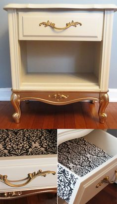 how to gold dip your furniture, diy, how to, painted furniture