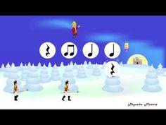 The Nutcracker - Dance of the Sugar Plum Fairy - Tchaikovsky - Rhythm practice - Lectura rítmica Nutcracker Music, Fairy Music, Online Music Lessons, Primary Music, Music Activities, Elementary Music, Music For Kids, Music Classroom, Teaching Music