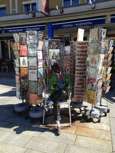 Reading corner in Velden Carinthia, Joy Of Living, Times Square, Corner, Reading, Reading Books