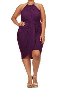Plus Size Goddess Dress (plus size) #plussizefashion #dress