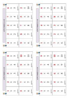 Un jeu de loto pour apprendre et mémoriser les tables de multiplication de 1 à 10. Tables Multiplication, Cycle 3, To My Daughter, Activities, Puzzle, Beauty, 4 Times Table, Learning, Riddles