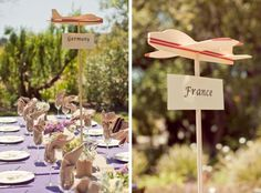 Fresh Ideas for Travel Themed Weddings | SouthBound Bride