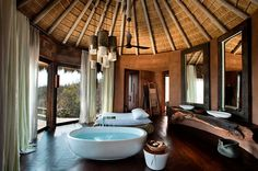The African playground at Observatory, Leobo Private Reserve | Luxury Hotels Travel+Style