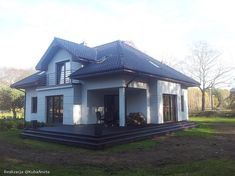 Zdjęcie projektu Filip WAH1183 Home Fashion, Gazebo, Construction, Outdoor Structures, House Design, Cabin, Mansions, House Styles, Home Decor