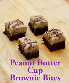 Within the Kitchen: Peanut Butter Cup Brownie Bites and Cook Book Revi...