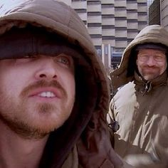 """Or when they hung out together in between scenes on Breaking Bad? 