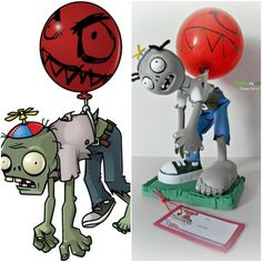 1000 images about fofuchos plants vs zombies on for Decoracion con globos plantas contra zombies
