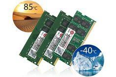 Transcend revela novos módulos RAM para situações extremas