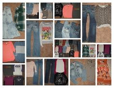 Huge 21pc Junior Girl's Clothing Lot sz XS S 0-2 Jeans Tops Spring Summer Fall