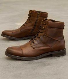 GBX Brisk Boot - Men's Shoes in Dark Tan | Buckle