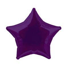 Balloon star violet
