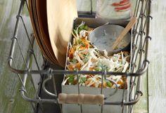 Σαλάτα λάχανο με υπέροχο dressing