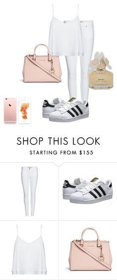 """Untitled #205"" by emmaxoxo2003 ❤ liked on Polyvore featuring Burberry, adidas Originals, Alice + Olivia, Michael Kors and Marc by Marc Jacobs"