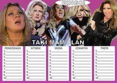 Bingo, Schedule, Back To School, Random Stuff, Life Hacks, Fanart, How To Plan, Inspiration, Timeline