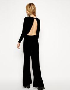 backless black jumper - a subtle kind of sexy