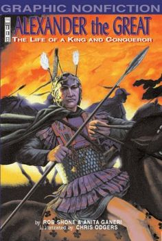 Alexander the Great (Graphic Non-Fiction S.) by Anita Ganeri,