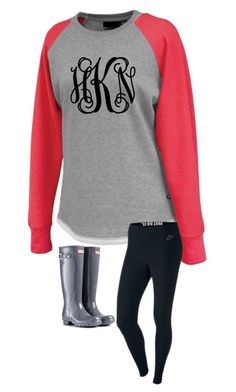 """Untitled #314"" by madison-mills-1 on Polyvore featuring NIKE and Hunter"