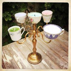 #chandelier #vintagedecor #diycandles