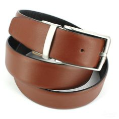 c176b03c9dcc Ceinture cuir, Vitello, couleur reversibe tabac-noir, avec surpiqure -  Cravate-Avenue.com  ceinture  cuir  mode  homme  robertcharles  belt   leather ...