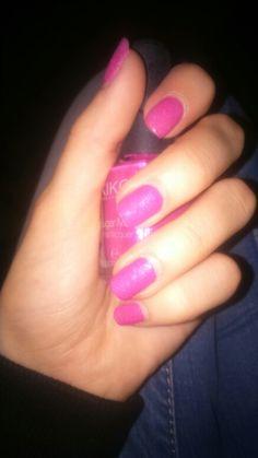 Pink sugar nail