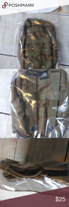 WITH CLIPPS FOR UTILITY BELT AMD GRENADE POUCHES ARMY MILITARY Magazine Holder