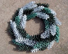 Pine Cone Wreath, White Pine.  Door Wreath, Wall Decor, Pinecone Wreath, Gifts, Front Door Wreath, Rustic.