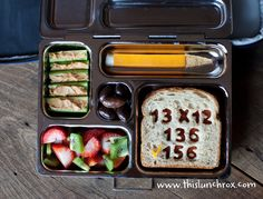 creative + healthy lunches!