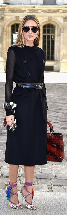 Olivia Palermo always has the best street style accessories. It makes sense she designed her own handbag!