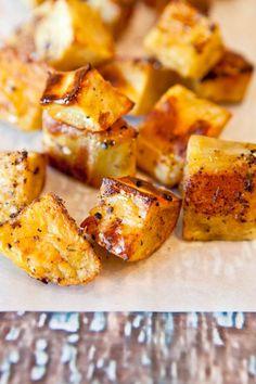 Caribbean Citrus Roasted Sweet Potatoes