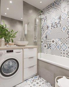 small bathroom storage ideas is entirely important for your home. Whether you pick the bathroom remodeling ideas or small bathroom storage ideas, you will make the best mater bathroom for your own life. Small Bathroom Storage, Bathroom Design Small, Laundry In Bathroom, Bathroom Interior Design, Bathroom Designs, Craftsman Bathroom, Modern Master Bathroom, White Bathroom, New Toilet