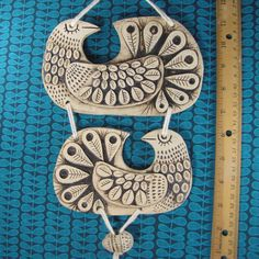 Large Bird wall Mobile  Scandinavian Mod style by kenguroo on Etsy, $180.00