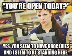 Cashier problems - Cashier Humor - Cashier Humor meme - - Cashier problems The post Cashier problems appeared first on Gag Dad. Cashier Problems, Retail Problems, Work Memes, Work Humor, Work Funnies, Work Quotes, Retail Humor, Retail Funny, Attitude