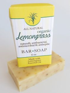 organic lemongrass oil moisturizing bar antibacterial antimicrobial anti-septic soap Amish country all natural organic handmade traditional family USA America