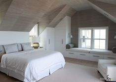 Delightful 16 Smart Attic Bedroom Design Ideas Makes Me Wish For A Loft Conversion.But  Then I Think Of The Mess And Decide Against It!
