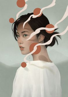 Poetic Digital Illustrations by Aykut Aydogdu – I absolutely love this guys work. He is a digital artist and creates the coolest, surreal digital paintings. His style is so smooth and aesthetically pleasing.