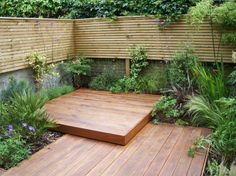 Architecture Small Decked Garden Small Garden Landscaping You Were Looking For. Small Garden Plans, Small Garden Landscape, Small Backyard Gardens, Small Garden Design, Garden Spaces, Small Gardens, Outdoor Gardens, Small Garden Inspiration, Garden Ideas