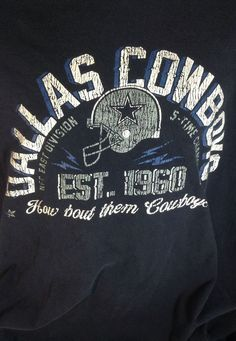 How Bout Them Dallas  Cowboys Mens T-Shirt 3XL #CowboysTeamApparel #DallasCowboys