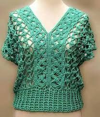 Beautiful crochet blusas patterns