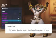Mei's The Dancing Queen of Bees | Overwatch | Know Your Meme