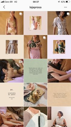 Inspiração de layout do feed do instagram Instagram Tips, Instagram Feed, Muted Colors, Mood Boards, Clinic, Layout, Design, Soft Colors, Page Layout