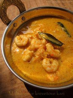 Recepty z Indie II.: Malabarske krevetove kari