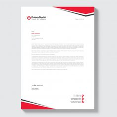 Discover thousands of Premium vectors available in AI and EPS formats Free Letterhead Design, Letterhead Design Inspiration, Professional Letterhead Template, Company Letterhead Template, Letterhead Business, Corporate Business, Page Layout Design, Header Design, Brochure Layout