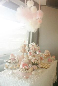 Pretty Pink Vintage Wedding Girl Party Shower Ideas Planning Decor