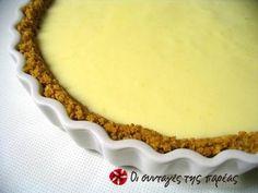 Λεμονόπιτα πανεύκολη Greek Sweets, Greek Desserts, Just Desserts, Dessert Recipes, Candy Recipes, Sweet Pie, Sweet Tarts, Low Calorie Cake, Lemon Cream Pies