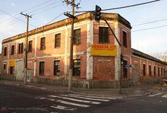 Old warehouse at Bresser street, Sao Paulo - Brazil