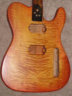 Cherry Burst Tele Guitar