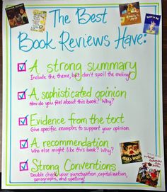 book reviews by students In this lesson plan, students determine what qualities make a good book review before writing and publishing their own reflections on books of their choice.