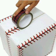 Tape that looks like baseball seems