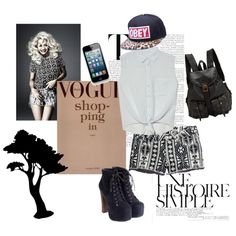 """less is more"" by tatharosita on Polyvore"