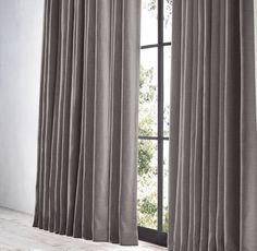 Mink $349REGULAR $261MEMBER Dining Room Curtains, Curtains With Blinds, Color Theory, Drapery, Window Treatments, Perennials, Weaving, Indoor, House Design